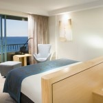 A guest room at Crowne Plaza Coogee Beach