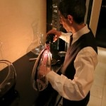 Decanting Robert Mondavi wines