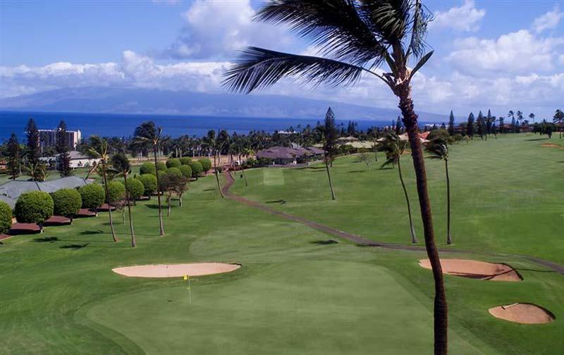 Maui golf course (courtesy of Kaanapali Beach Hotel)