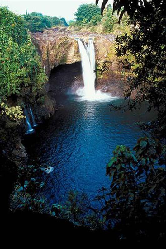 Maui waterfall (courtesy of Kaanapali Beach Hotel)