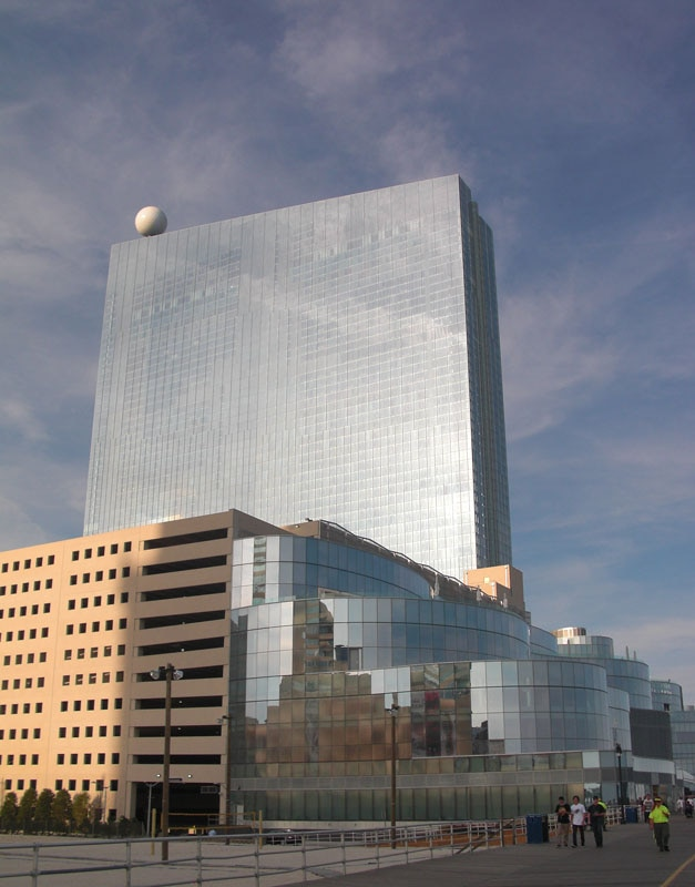 The exterior of Revel in Atlantic City