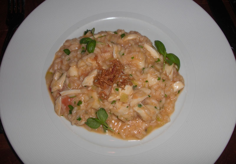 Risotto With Crab And Lemon Recipe — Dishmaps