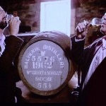 Global Ambassador Samuel Simmons and David Stewart tasting from the cask