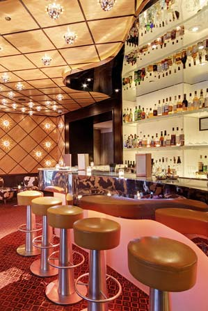 The Mark hotel in New York's bar