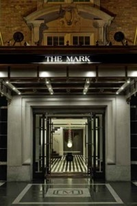 the mark entrance 200x300 The Mark hotel in New York entry