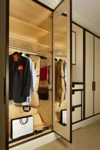 the mark room closet 200x300 The Mark hotel in New Yorks Madison Suite closet