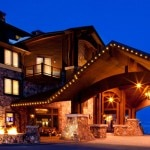 Waldorf Astoria, Park City, Utah entry (courtesy of Canyons Resort)