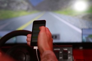 Browsing the internet while driving is a growing problem on the road