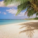 Private island beach at Renaissance Aruba Resort & Casino