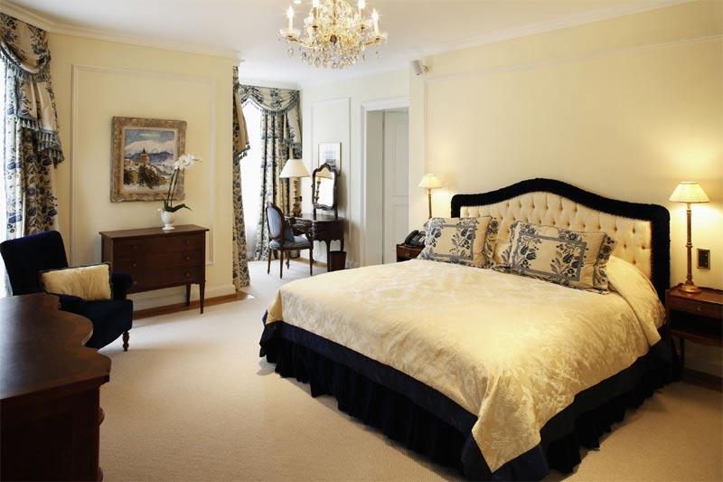 Hans Badrutt Suite at Badrutt's Palace Hotel