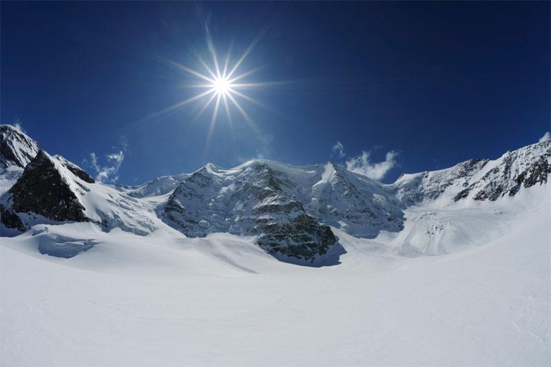 Piz Palü in Switzerland