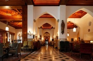 The Grand Hall at Badrutt's Palace Hotel