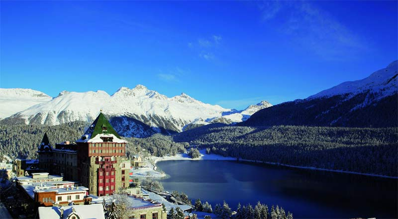 Winter at Badrutt's Palace Hotel