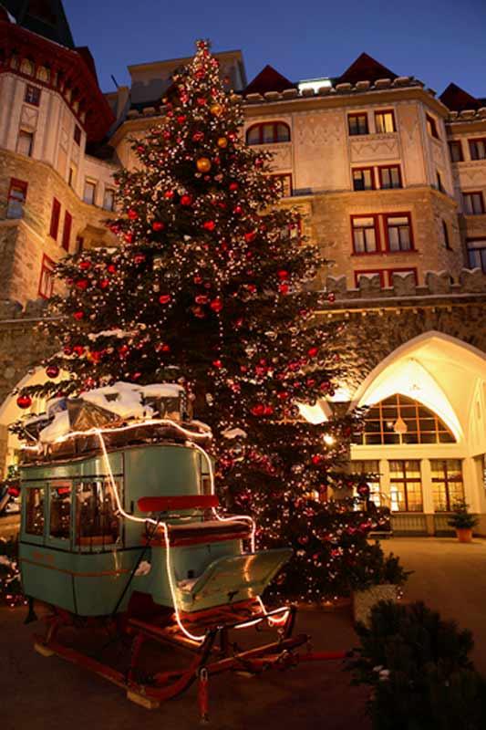Christmas at Badrutt's Palace Hotel