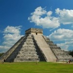 El Castillo at Chichen Itza outside of Cancun