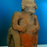 Mayan figurine at the Maya Museum