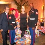 mehdi eftekari sophie gayot 150x150 2012 Toys for Tots at the Four Seasons Hotel Los Angeles at Beverly Hills