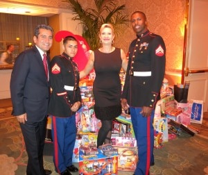 mehdi eftekari sophie gayot 300x252 2012 Toys for Tots at the Four Seasons Hotel Los Angeles at Beverly Hills
