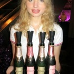 Mini bottles of Domaine Chandon Brut Classic and Brut Rosé