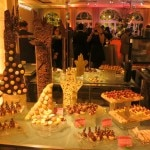 Pastry buffet by chef Federico Fernandez
