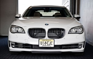 bmw750li 300x191 The BMW 750i is available for chauffeur service at all Fairmont Hotels in the United States and Canada