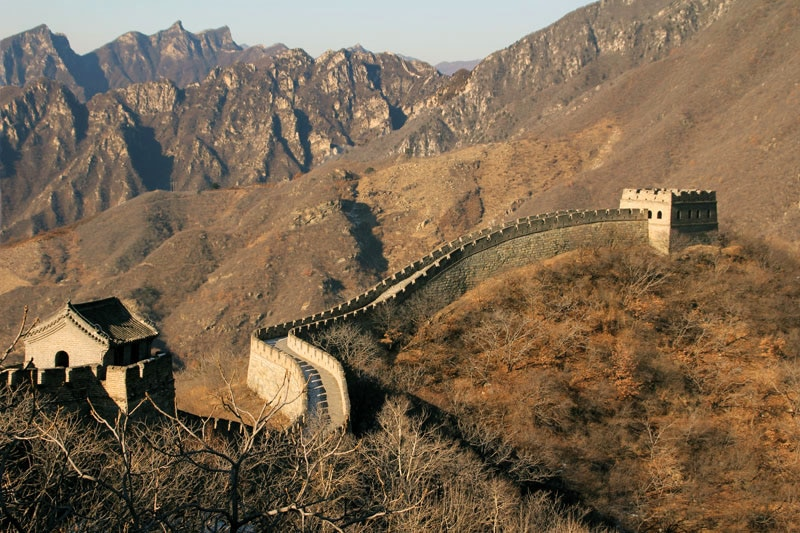 The Great Wall of China, to the north of Beijing, is one of GAYOT.com's Top 10 Must-See Travel Destinations of 2013