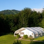 New Life Hiking Spa fitness tent