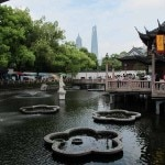 A section of the Yuyuan Garden in Shanghai's Old City
