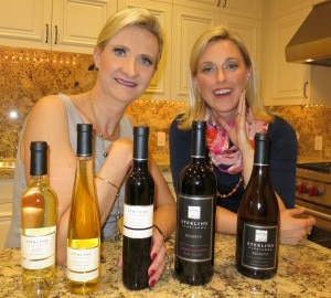 Sterling Vineyards red winemaker Alison Crary presenting the wines that will be served at the 2013 Oscars Governors Ball