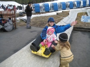 alpine slide 300x225 Snow Rookies