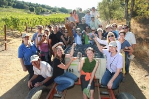Grape Camp participants (credit: Darren Miller Photography)
