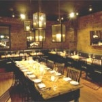 The dining room at Marc Forgione