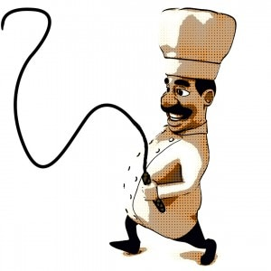 Some chefs are real tyrants!