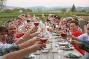 Dinner at Francis Ford Coppola Winery (credit: Darren Miller Photography)
