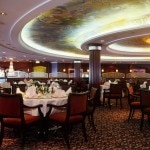 Crystal Serenity dining room