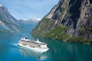 Crystal Serenity in Norway