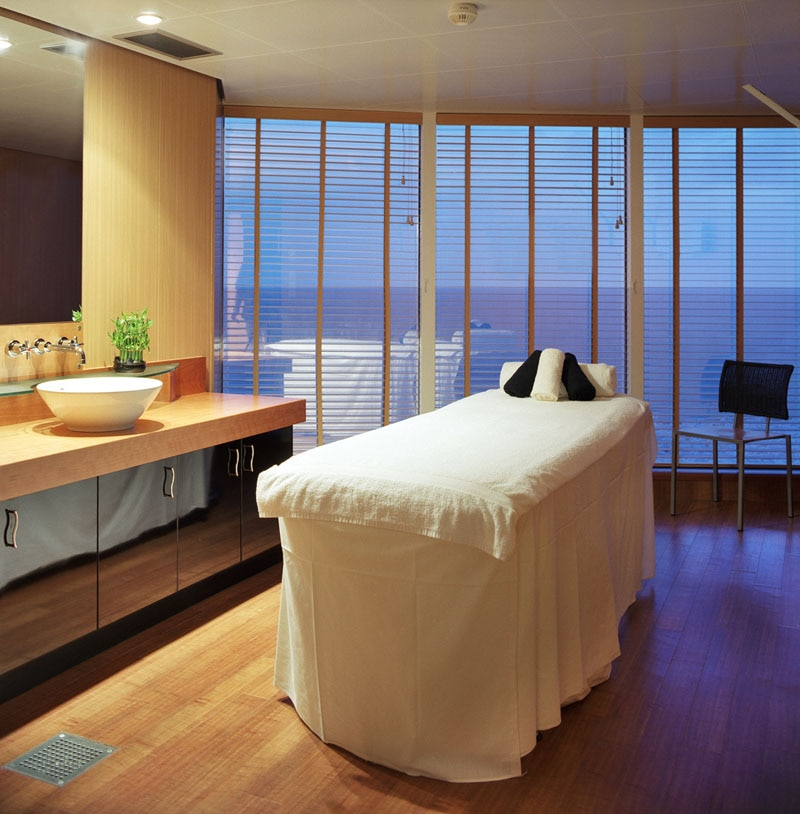 The spa on Crystal Serenity