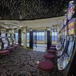 The casino on Crystal Symphony