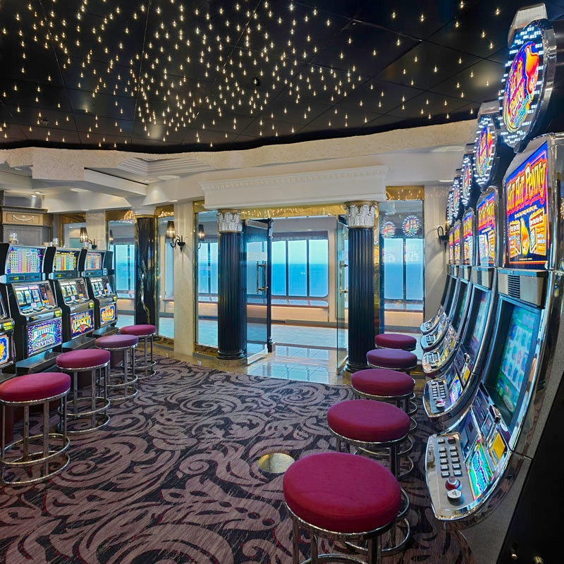 The casino on Crystal Symphony
