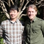 Managing Director of American Truffle Company Robert Chang  and Dr. Paul Thomas, chief scientist and business partner
