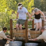 grape stomping 150x150 Sonoma County Grape Camp