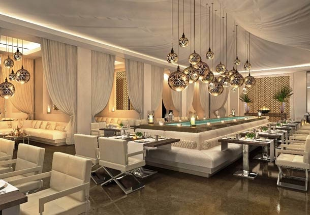 Levant restaurant at JW Marriott Marquis Hotel Dubai