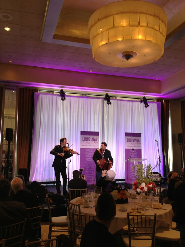 Brunch guests were treated to live performances from Grammy-nominated artists