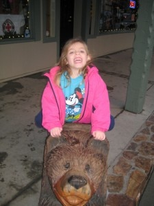 "Riding a ""big bear"""