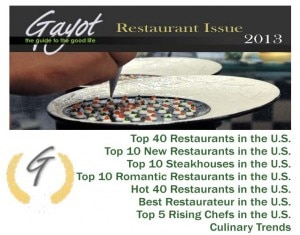 2013 gayot restaurant issue 300x235 GAYOTs 2013 Restaurant Issue