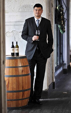 Yao Ming and his wine program at Yao Family Wines