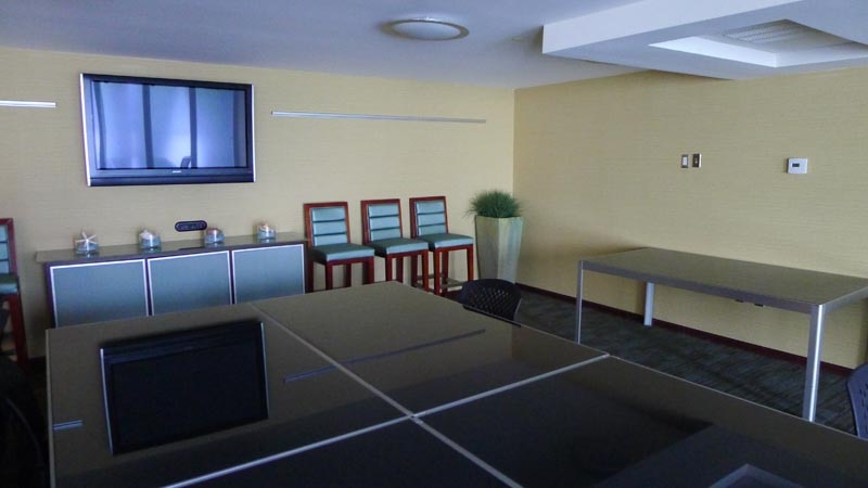 Spacious conference room at Shade Hotel in Manhattan Beach, CA