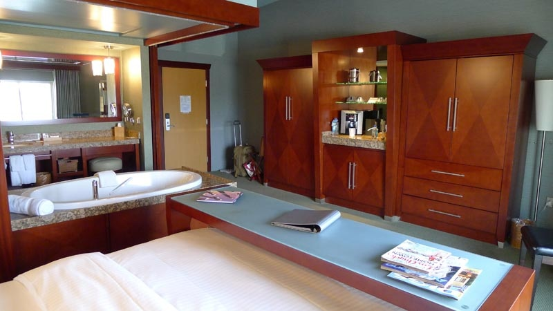 Guest Bedroom Includes A Wet Bar And Espresso Machine At Shade Hotel In Manhattan Beach Ca