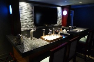 shade hotel suite bar 300x200 Expanded wet bar in Executive Studio Suite at Shade Hotel in Manhattan Beach, CA
