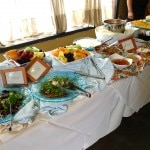 Brunch buffet spread at Wilshire Restaurant